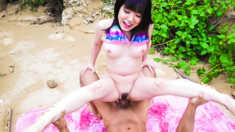 Asian creampie with big tits Airi Minami