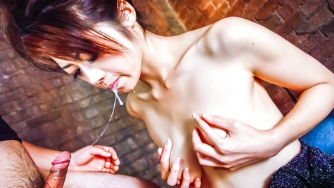 Hojo Makis hands and mouth get occupied with a stiff cock