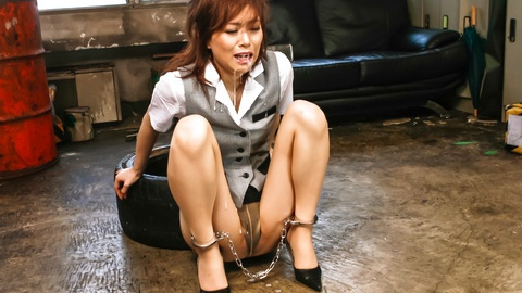 Keito Miyazawa headfucked by two hard dicks