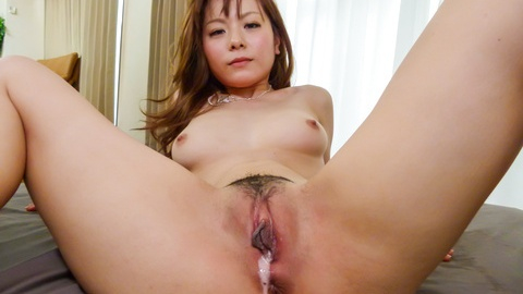 Sexy Anri Sonozaki enjoying two horny males