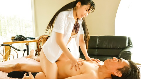 Yui Kasugano Japanese hardcore sex with her teacher