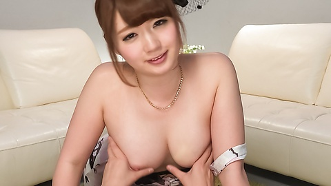 Sensual Yui Nishikawa gives the best Asian blowjob